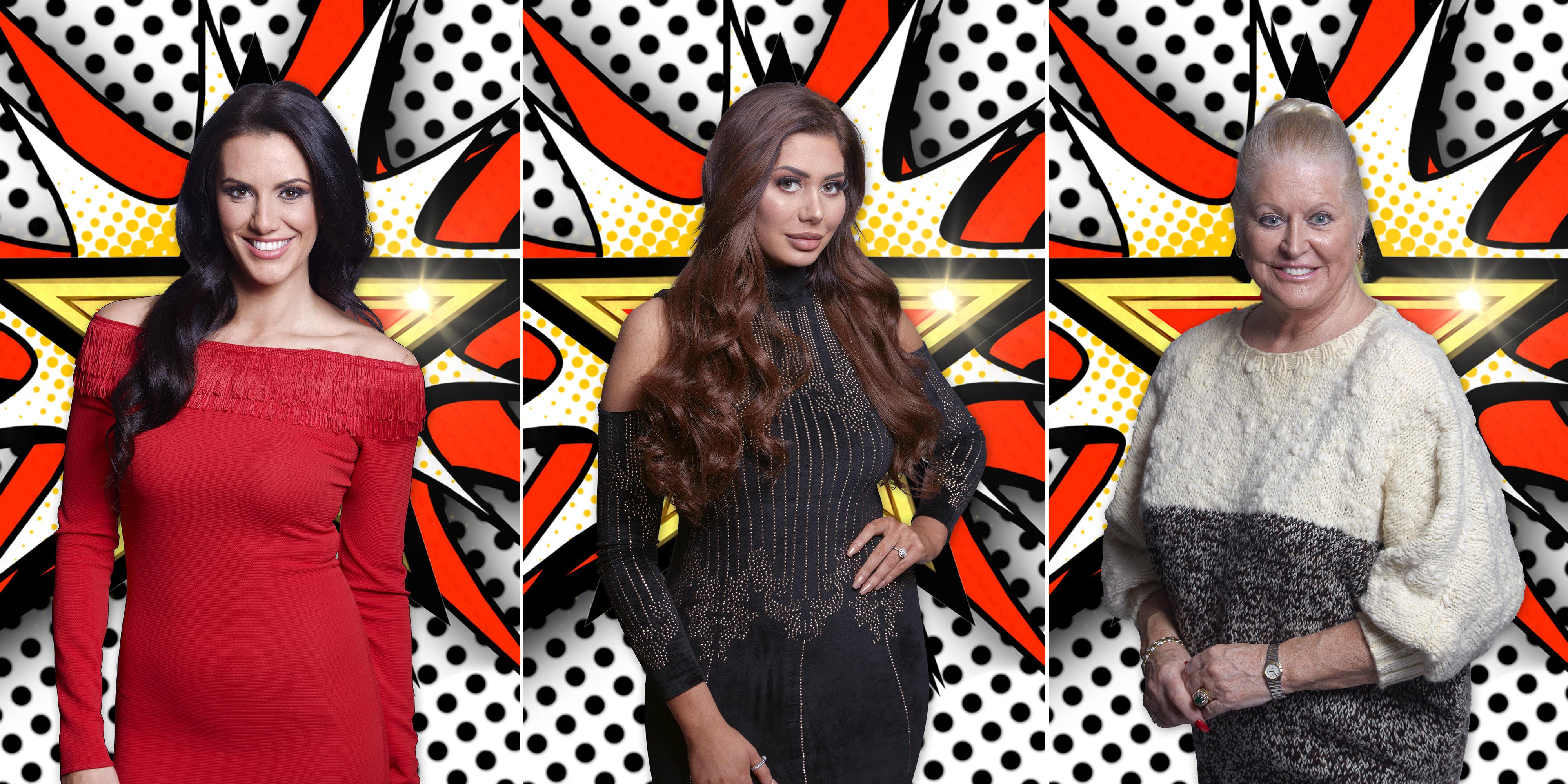 Meet the three new Celebrity Big Brother housemates
