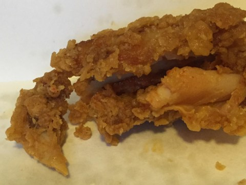 Man 'finds chicken beak and skull in his KFC meal'