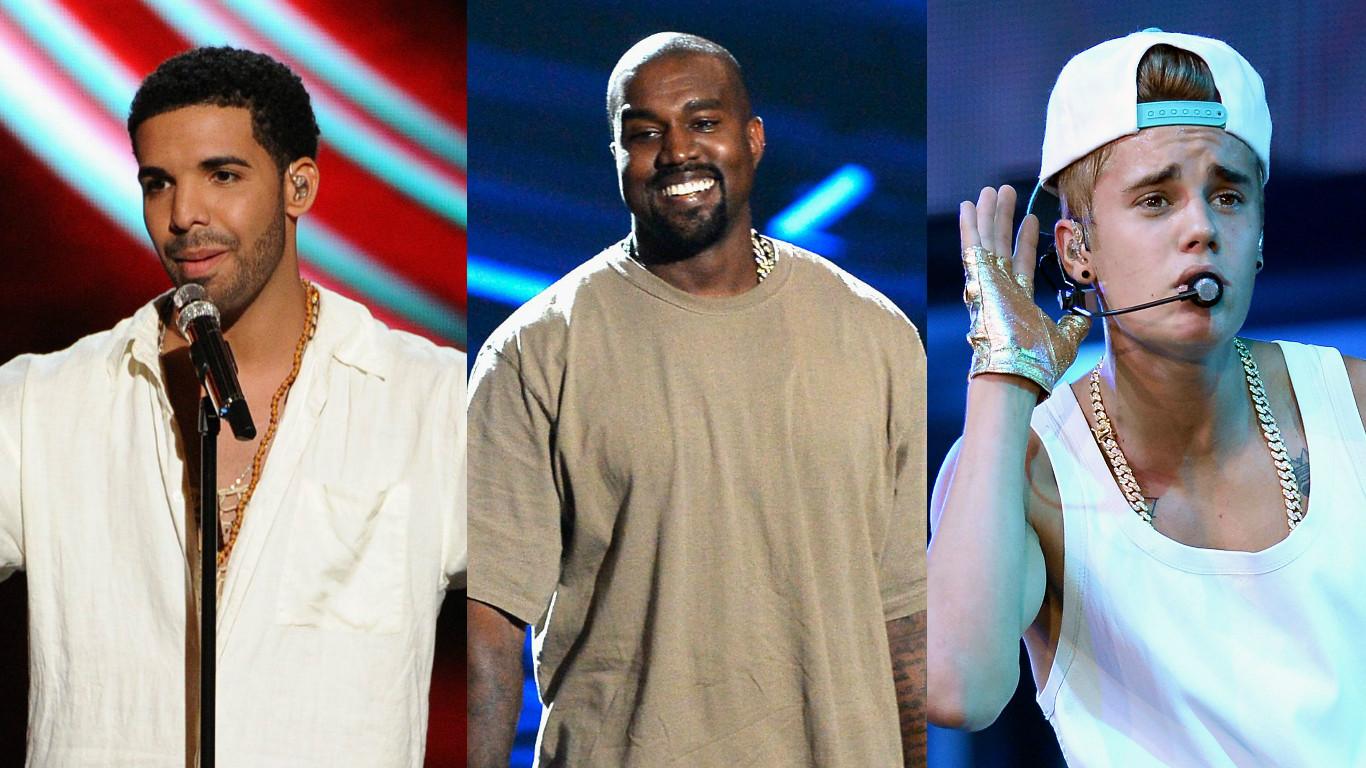 Justin Bieber, Drake and Kanye West might boycott 'irrelevant' Grammys