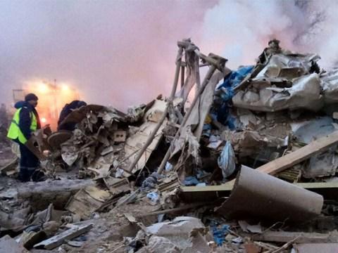 Dozens dead after Turkish cargo plane wipes out village near airport