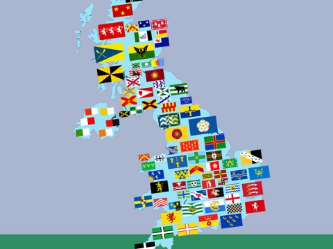 Do you know what the flag of your county looks like?