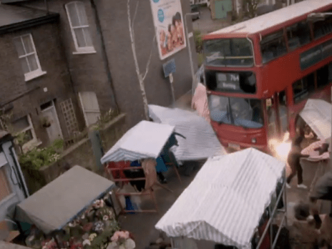 EastEnders characters didn't move on from the bus crash overnight