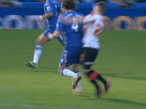 David Luiz forgiven for brutal challenge 'Conor McGregor would've been proud of'