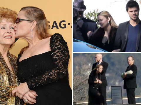 Carrie Fisher and Debbie Reynolds laid to rest in private service on family plot