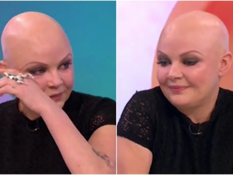 WATCH: Tearful Gail Porter gets rudely cut off just as she's telling the story of how she slept on a bench