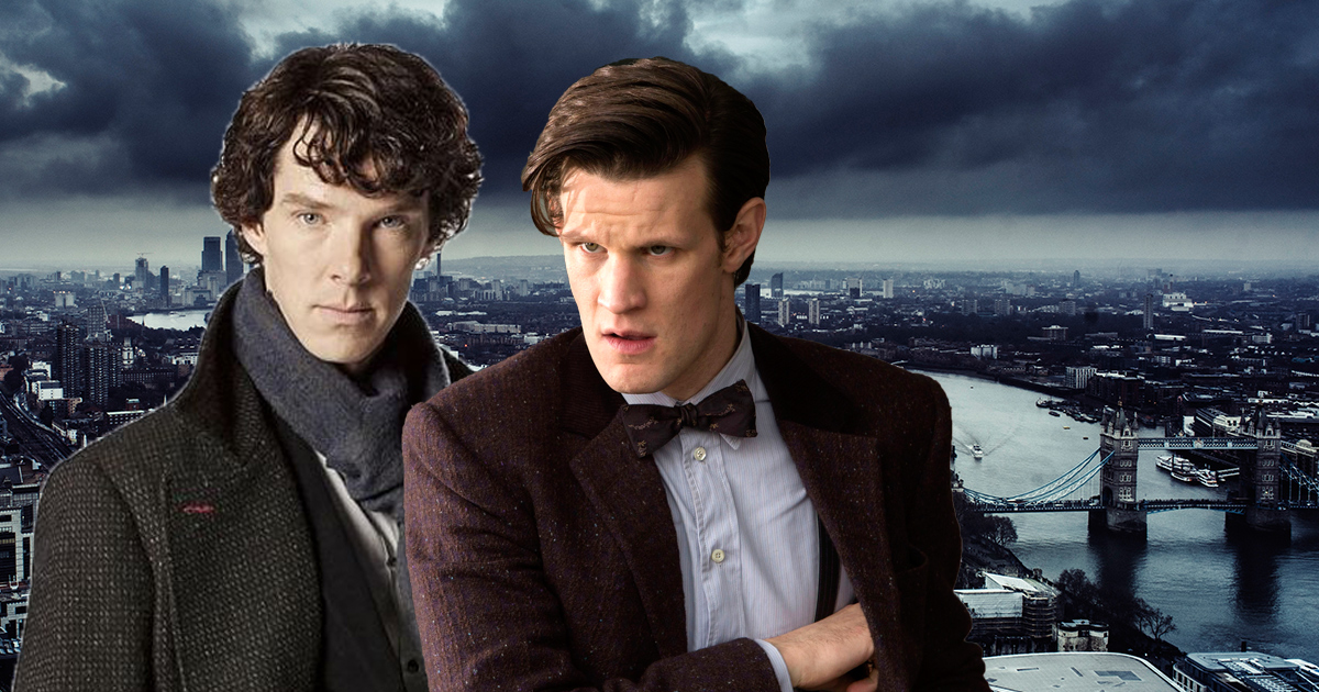Sherlock and Doctor Who: 9 times their worlds collided