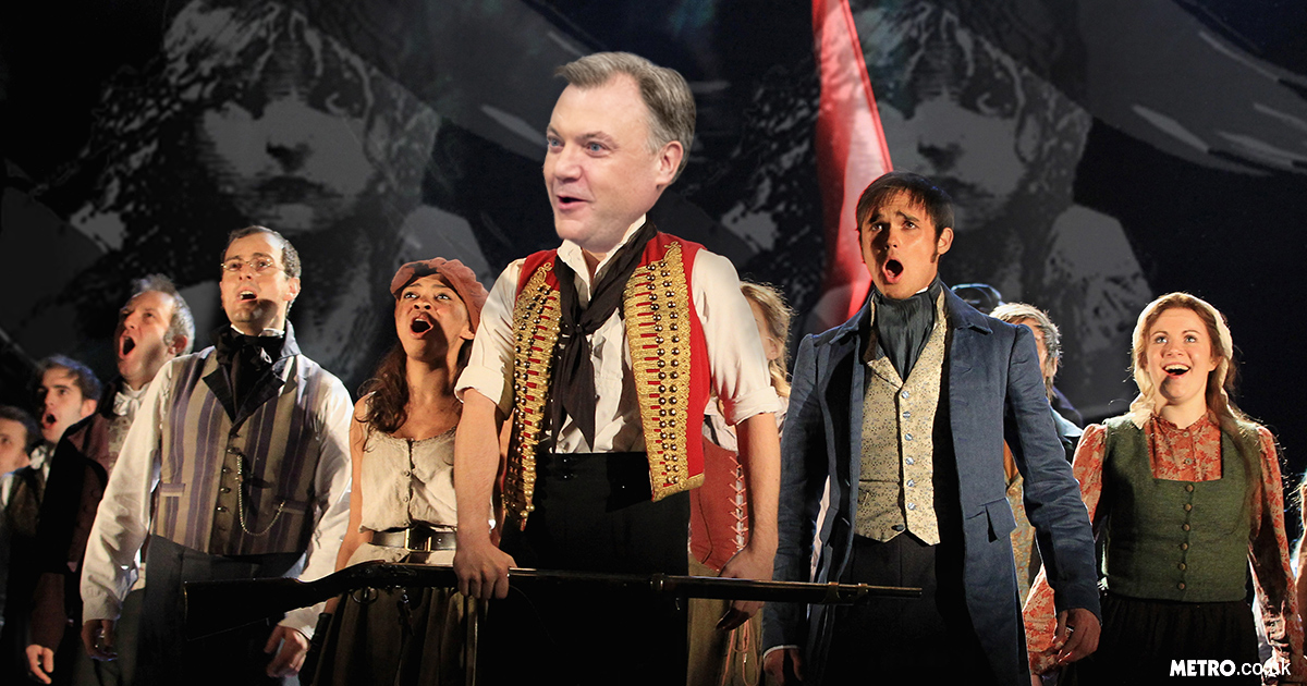 Ed Balls: The Musical could be happening as a top theatre producer thinks he's 'everything this country needs right now'