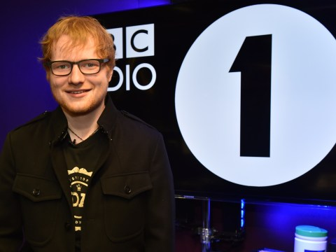 Ed Sheeran showed off THAT scar on his cheek during Radio 1 appearance