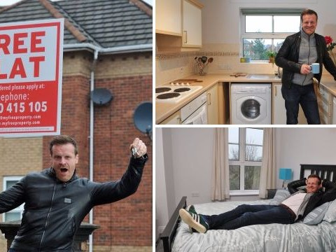 Millionaire is giving away a £120,000 flat for free