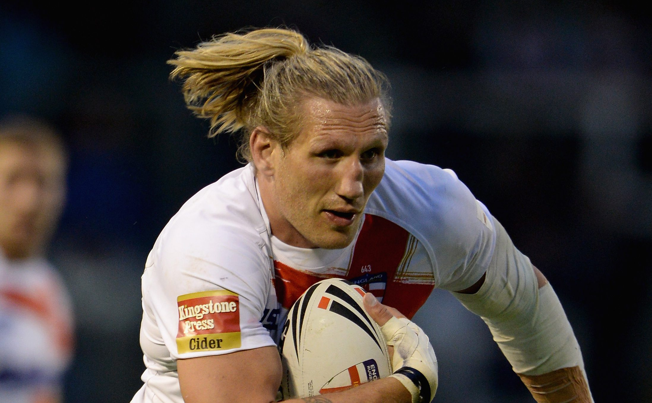 Is Rugby League star Eorl Crabtree following his uncle Big Daddy into the wrestling industry?