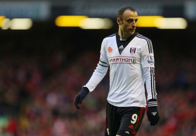 Dimitar Berbatov of Fulham (Photo by AMA/Corbis via Getty Images)