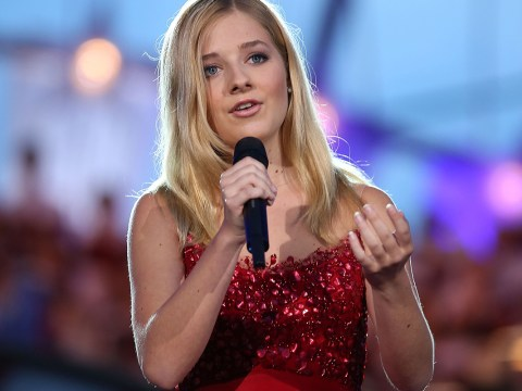 Jackie Evancho tells Good Morning Britain she is not performing for Trump but for 'my country'
