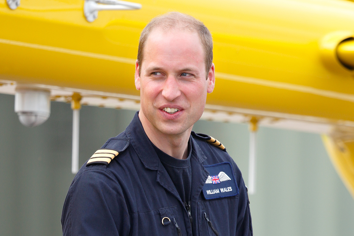 Prince William to give up pilot career to become full time royal credit getty