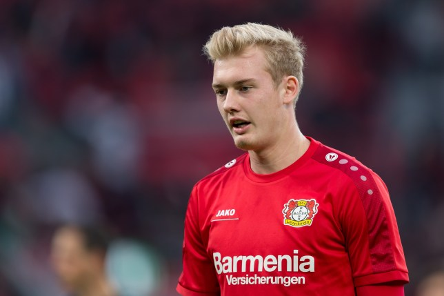Leverkusen, Germany 01.10.2016, 1.Bundesliga 6. Spieltag, Bayer 04 Leverkusen - BV Borussia Dortmund, 2:0, lJulian Brandt (Leverkusen) (Photo by TF-Images/Getty Images)