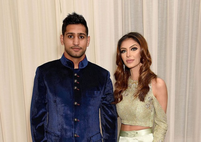 Amir Khan's wife Faryal Makhdoom is considering appearing on Celebrity Big Brother (Picture: Getty)