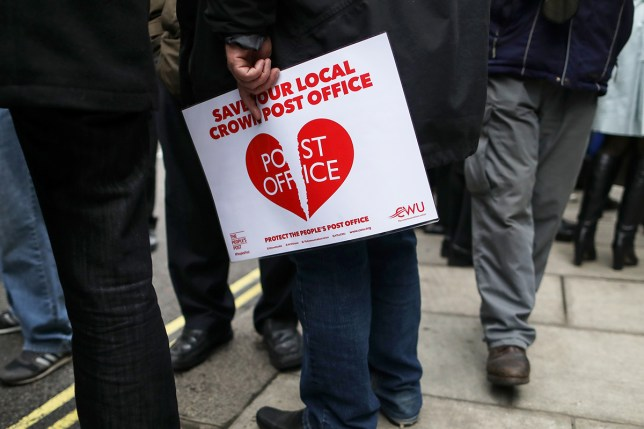 It's a tough time to be a Post Office employee (Picture: Chris Ratcliffe/Bloomberg via Getty)