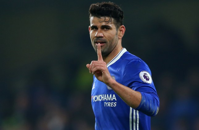 LONDON, ENGLAND - JANUARY 22: Diego Costa of Chelsea during the Premier League match between Chelsea and Hull City at Stamford Bridge on January 22, 2017 in London, England. (Photo by Catherine Ivill - AMA/Getty Images)