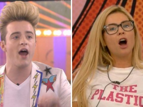 Celebrity Big Brother: Nicola McLean clashes with Jedward after they walk in on her changing