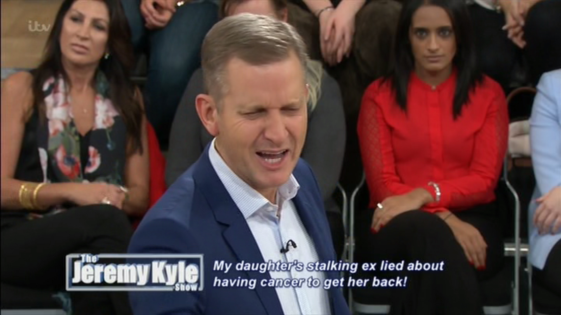 Jeremy Kyle left seething after 'vile' show guest lied about brain cancer