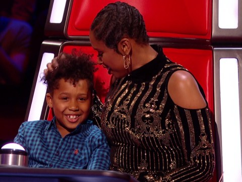 WATCH – The Voice UK: Jennifer Hudson's adorable son David gets in the red chair tonight