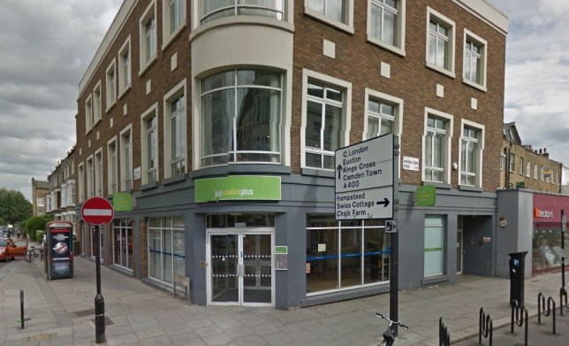 Man died on his way home from Job Centre 'after being found fit to work' Kentish Town Credit Googlemaps