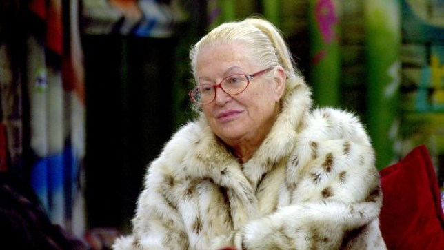 Kim Woodburn has been talking about her husband in CBB (Picture: Channel 5)