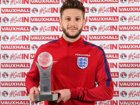 Adam Lallana named England player of the year ahead of Jamie Vardy and Wayne Rooney