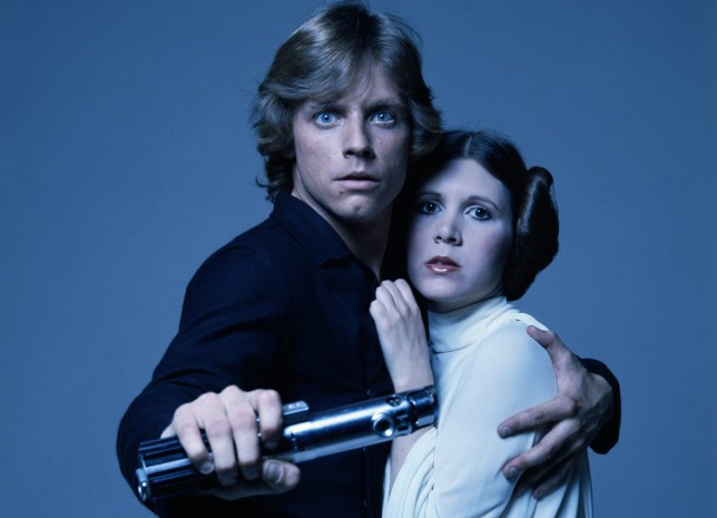 Mark Hamill and Carrie Fisher worked together on the Star Wars films (Picture: Getty Images)