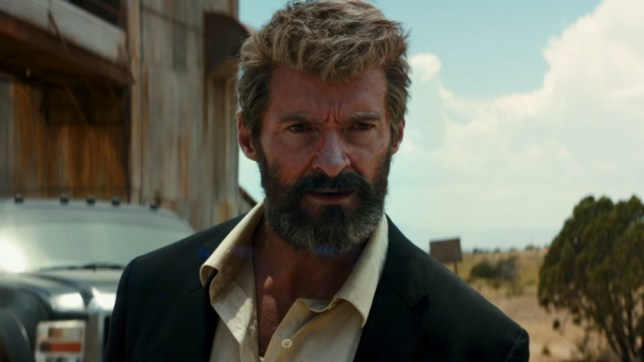 Hugh is looking mightily old in Logan (Picture: 20th Century Fox)