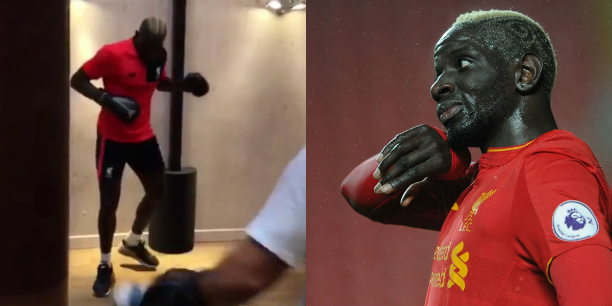 Liverpool outcast Mamadou Sakho insists he will soon be back on the pitch in weird training video
