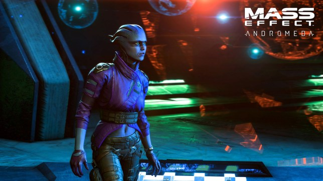 Mass Effect: Andromeda - you can get to know Peebee in March