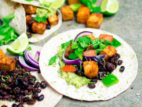 Vegan recipe video: Here's how to make Mexican tofu and black bean wraps