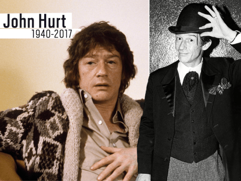 John Hurt, star of Alien and The Elephant Man, dies aged 77