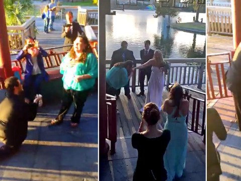 Man puts together a fake wedding to give his partner the ultimate surprise proprosal