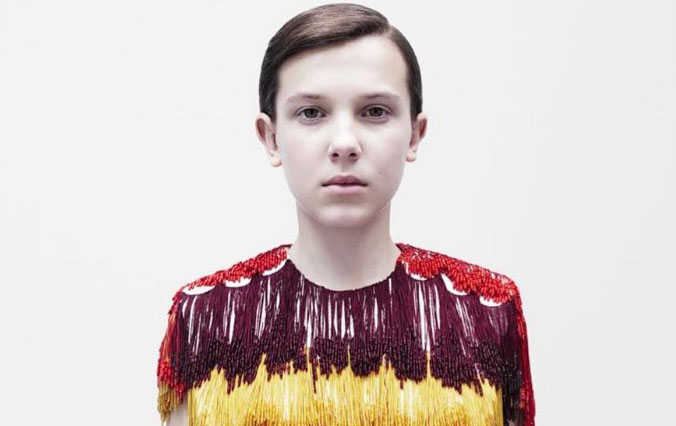 Millie Bobby Brown: Her first major fashion campaign with Calvin Klein