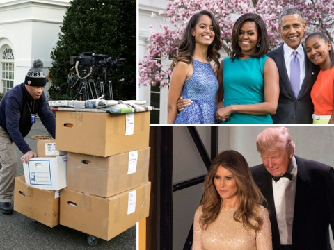The Obamas prepare to leave the White House for the final time ahead of Trump's inauguration