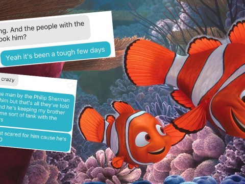 This girl managed to get through an entire Tinder conversation by quoting Finding Nemo