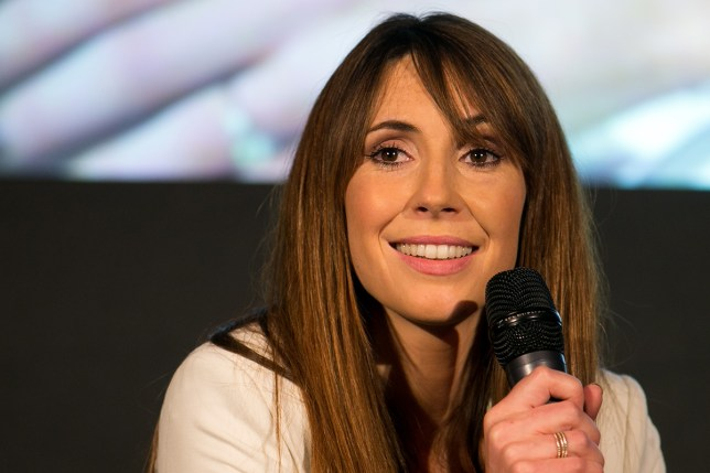 Alex Jones has denied nude photos shared online of her are real (Picture: PA)