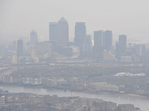 London on 'very high' air pollution alert for first time