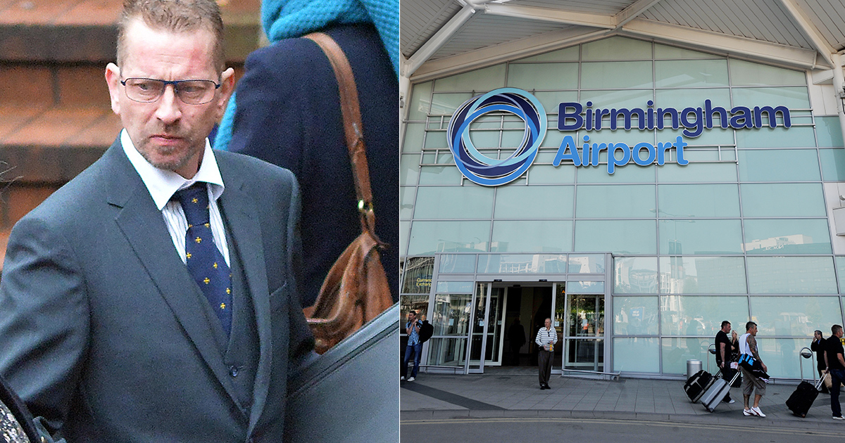 Passenger set fire to plane carrying 201 passengers back to Birmingham