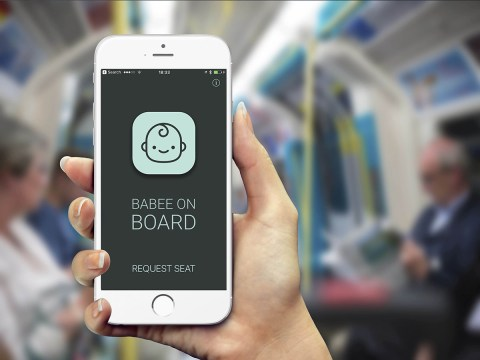 'Babee on Board' app is about to end all the tube awkwardness