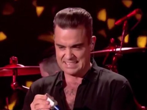 Robbie Williams has responded to THAT hand sanitiser gaffe and it's brilliant