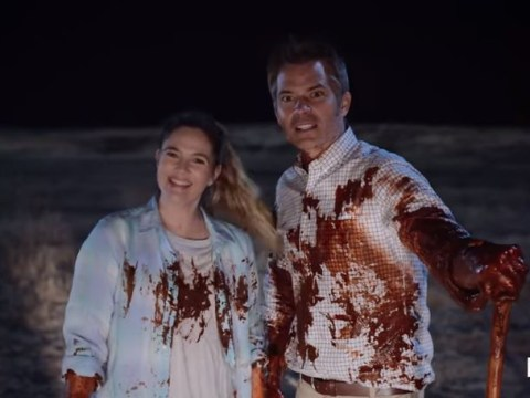 Watch Drew Barrymore as a zombie in first trailer for Netflix's Santa Clarita Diet