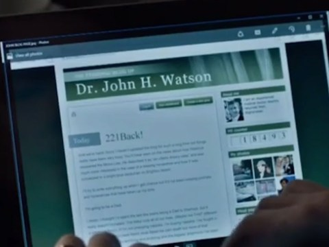 Did you spot Watson's blog blooper in the latest episode of Sherlock?
