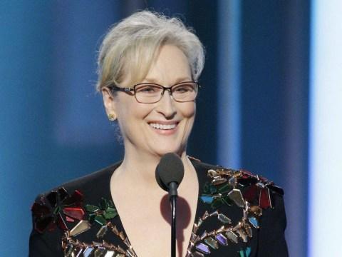 Celebs flock to Twitter to support Meryl Streep's anti-Trump Golden Globes speech