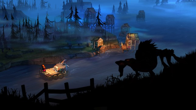 The Flame In The Flood: Complete Edition (PS4) - apparently wolves can swim