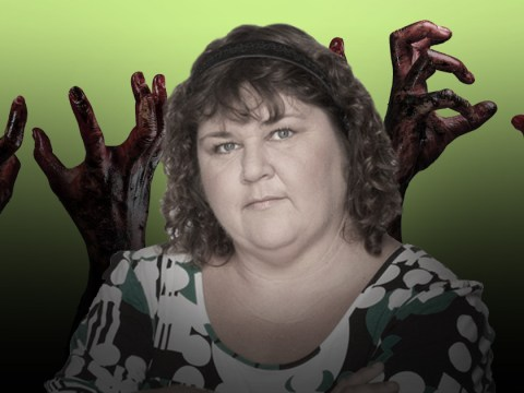 Cheryl Fergison calls for an EastEnders spin off featuring dead characters so that Heather Trott can return