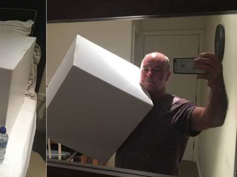 You've never seen a love quite like this guy's father's for his beloved cube