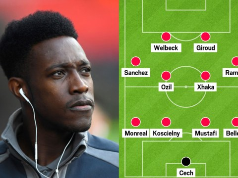 Five ways Arsenal could line-up now Danny Welbeck is back in the mix