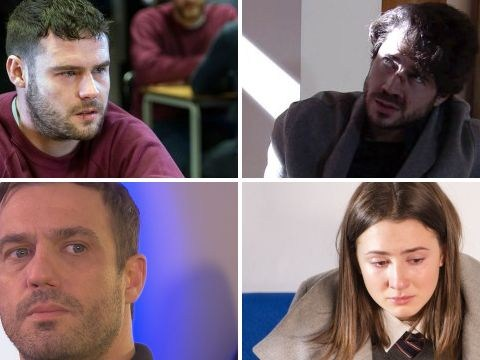12 soap spoiler pictures: EastEnders and Emmerdale sex scandals, Coronation Street violence, Hollyoaks horror